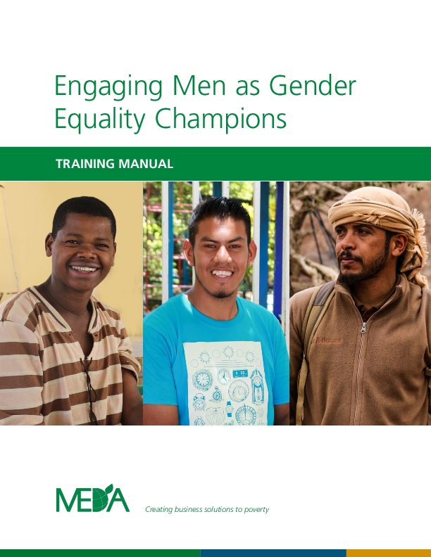 Engaging Men as Gender Equality Champions