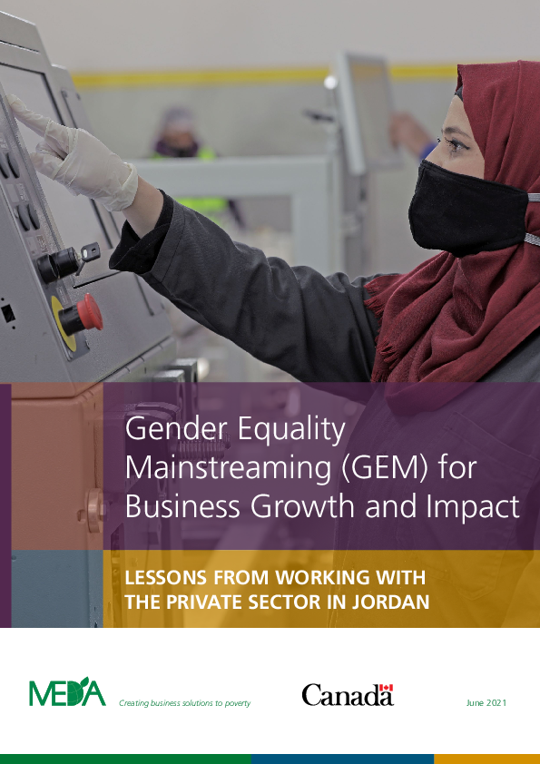 Gender Equality Mainstreaming (GEM) for Business Growth and Impact - JVL