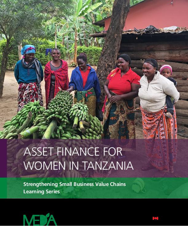 Asset Financing for Women in Tanzania