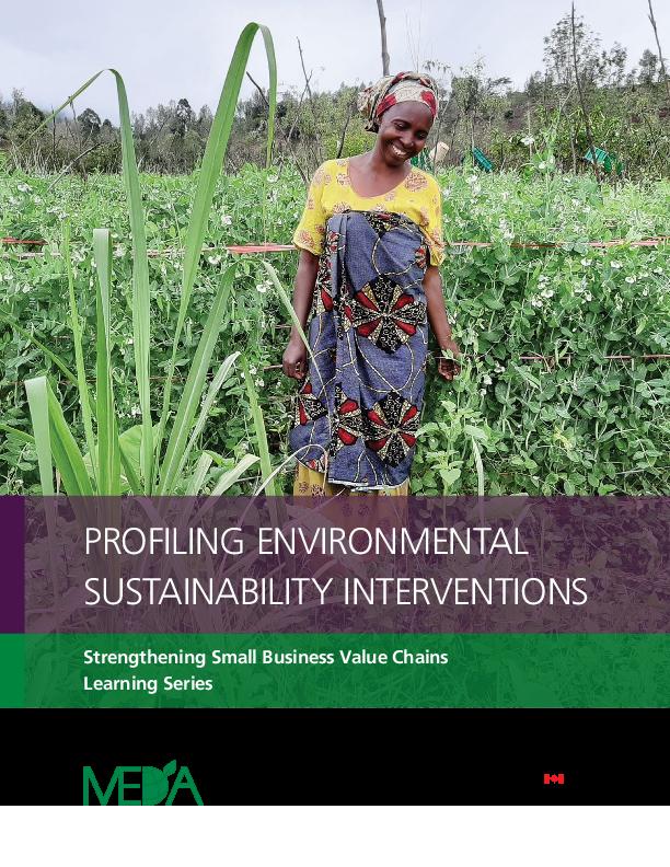 Profiling Environmental Sustainability Interventions (ENG/SWA)
