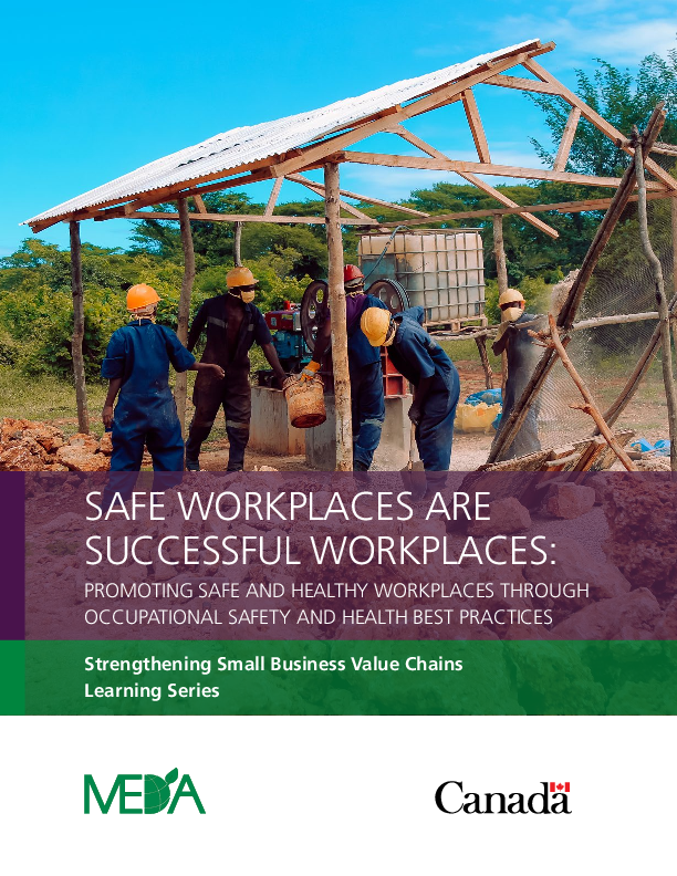 Safe Workplaces- Successful Workplaces