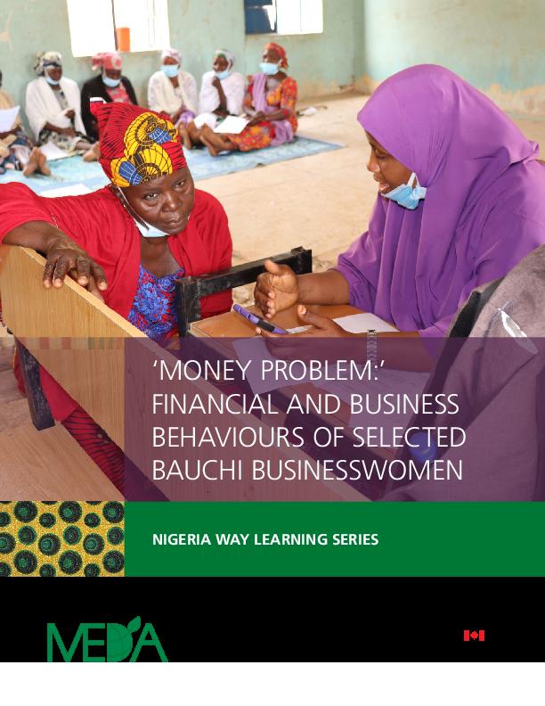 'Money Problem:' Financial And Business Behaviours Of Selected Bauchi Businesswomen
