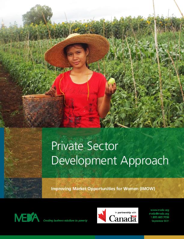 Private Sector Development Approach