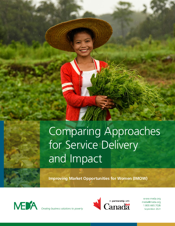 Comparing Approaches for Service Delivery and Impact