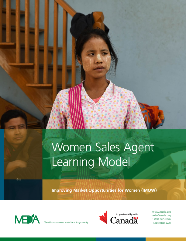Women Sales Agent Learning Model