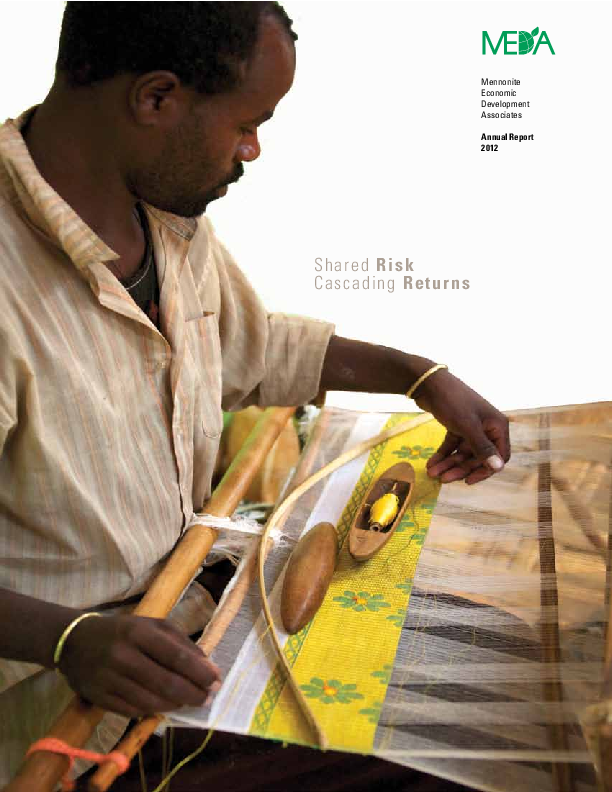 MEDA Annual Report – 2012