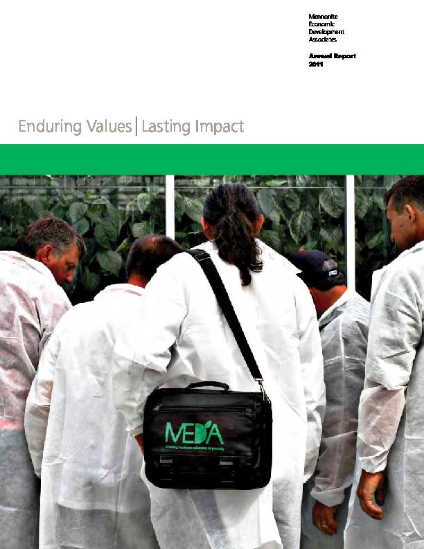 MEDA Annual Report – 2011