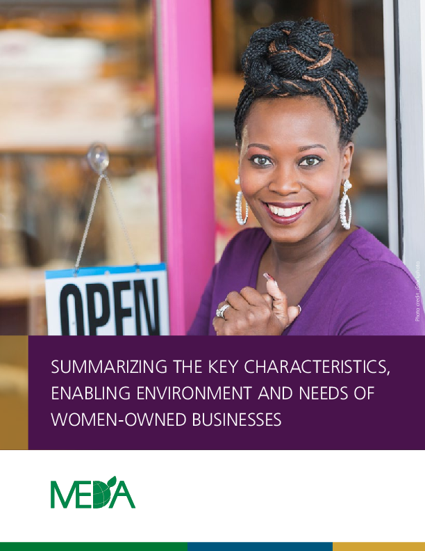 Women Owned Businesses- Summary Report