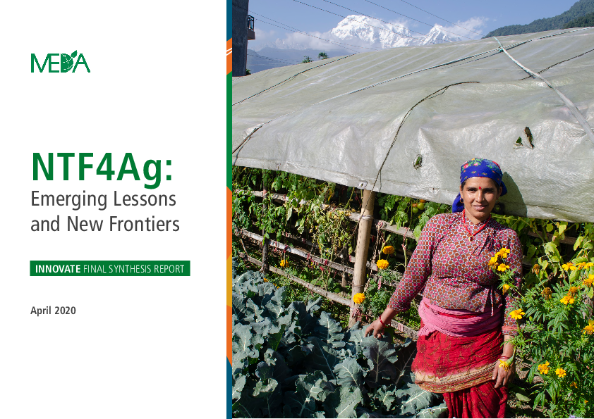 NTF4Ag: Emerging Lessons and New Frontiers