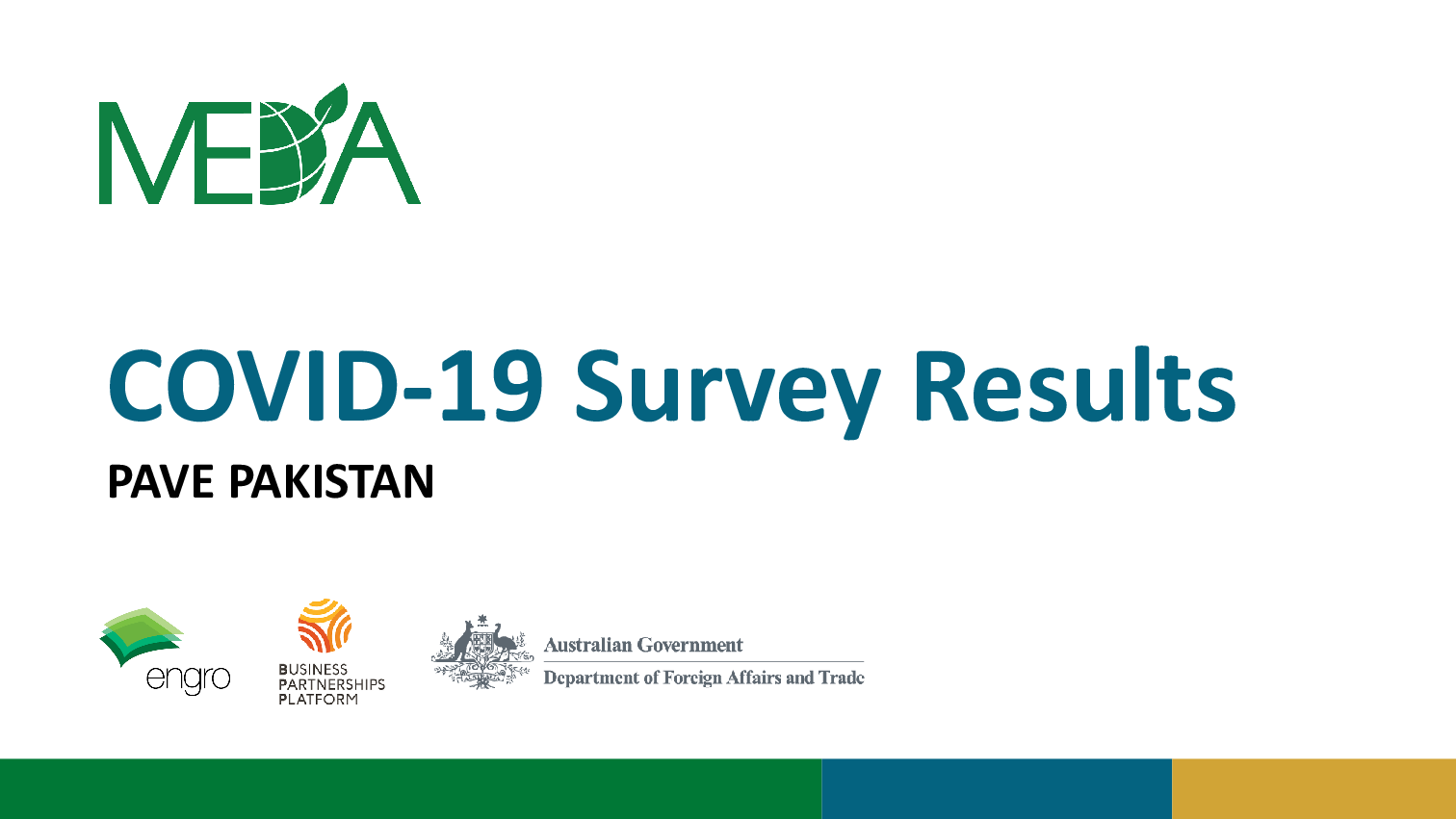 PAVE COVID-19 Survey Results