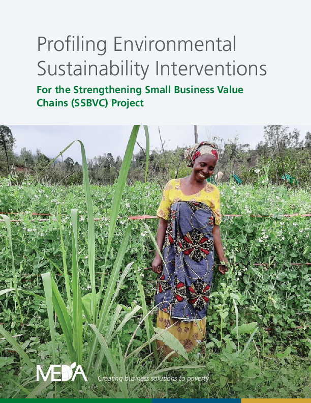 Environmental Interventions in the SSBVC Project