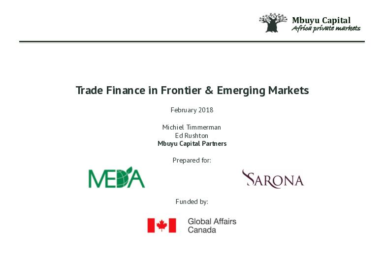 Mbuyu Trade Finance Report