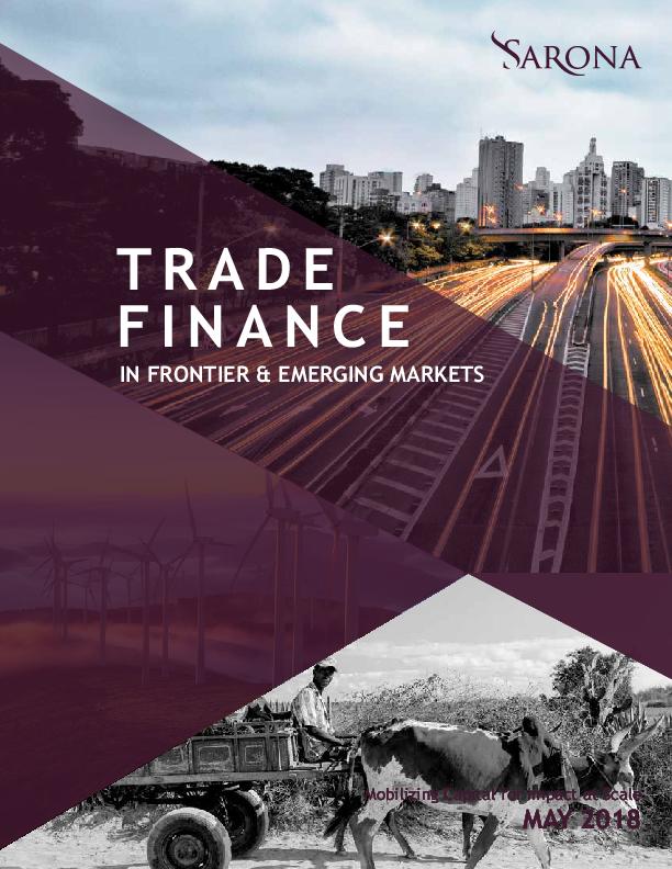 Trade Finance in Frontier & Emerging Markets 2019
