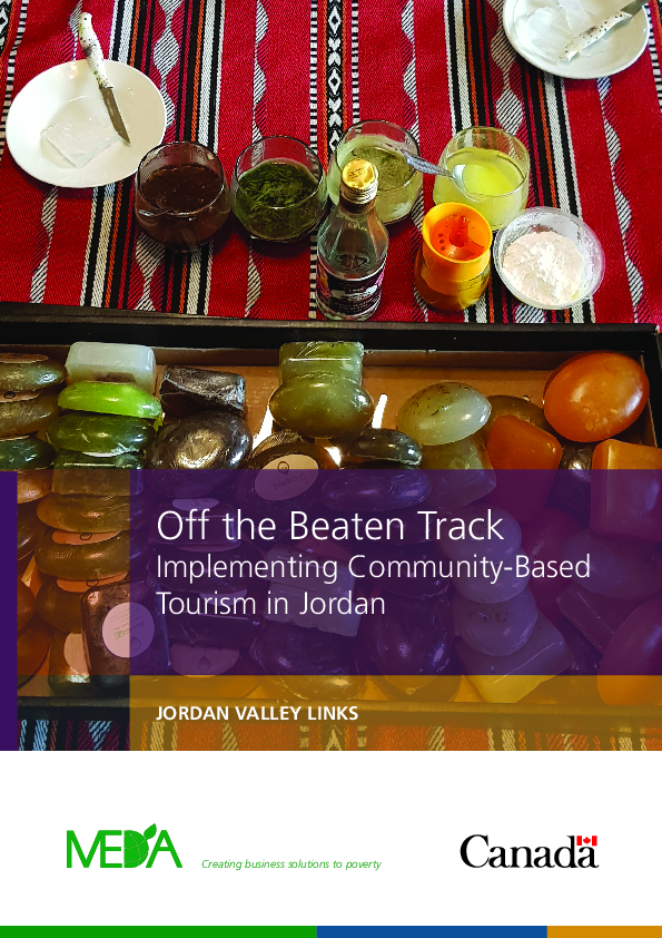 Off the Beaten Track: Implementing Community Based Tourism in Jordan (EN/FR)