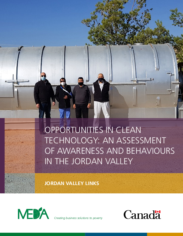 Clean Technology Assessment Summary