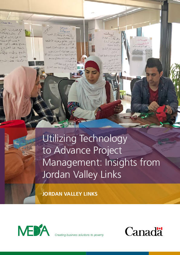 Utilizing Technology to Advance Project Management: Insights from Jordan Valley Links