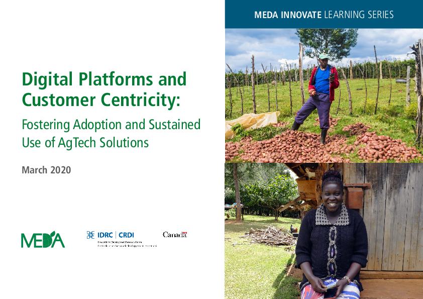 Digital Platforms and Customer Centricity: Fostering Adoption and Sustained Use of AgTech Solutions
