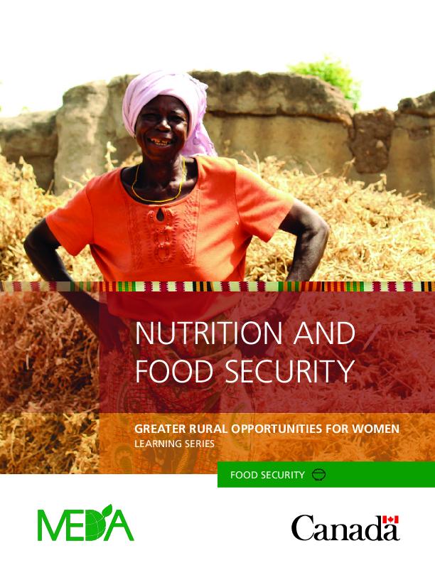 Nutrition and Food Security (EN/FR)
