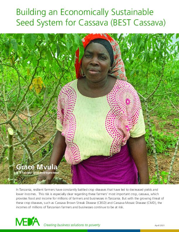 Donor Impact Report BEST Cassava - Spring 2021