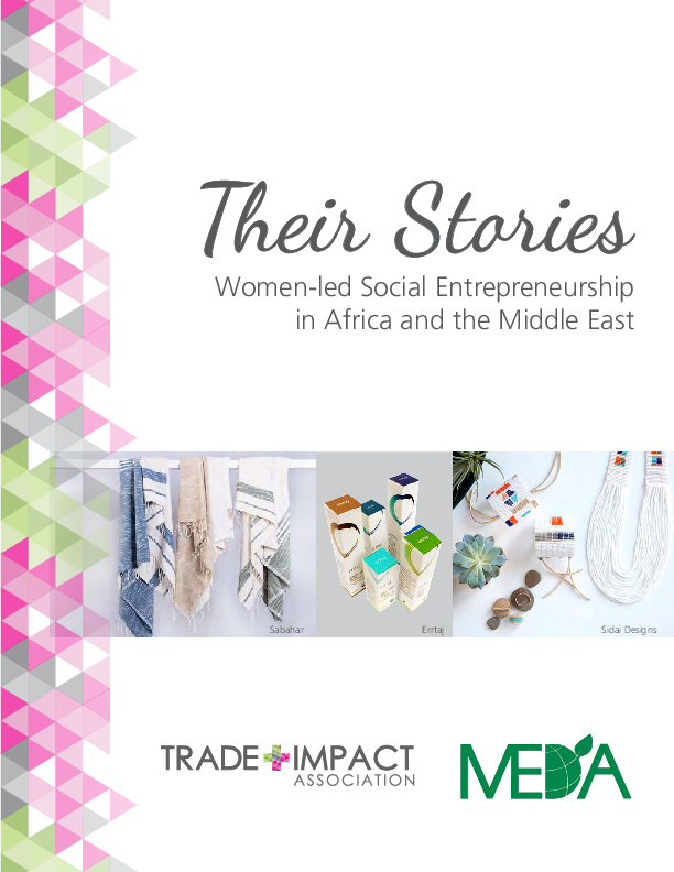 Their Stories - Women led Social Entrepreneurship in Africa and the Middle East