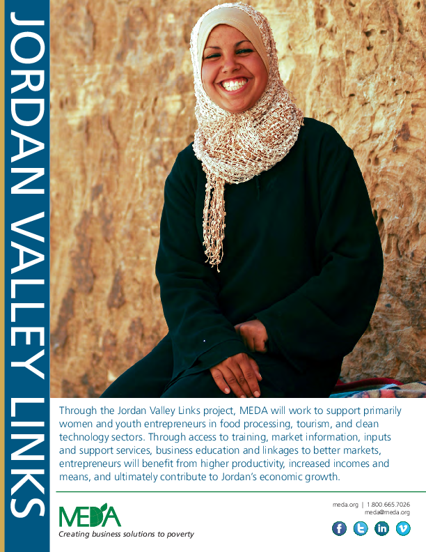 Jordan Valley Links Project Profile