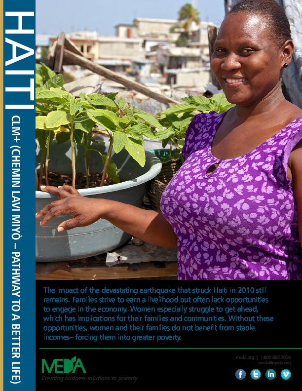 Haiti CLM Project Profile