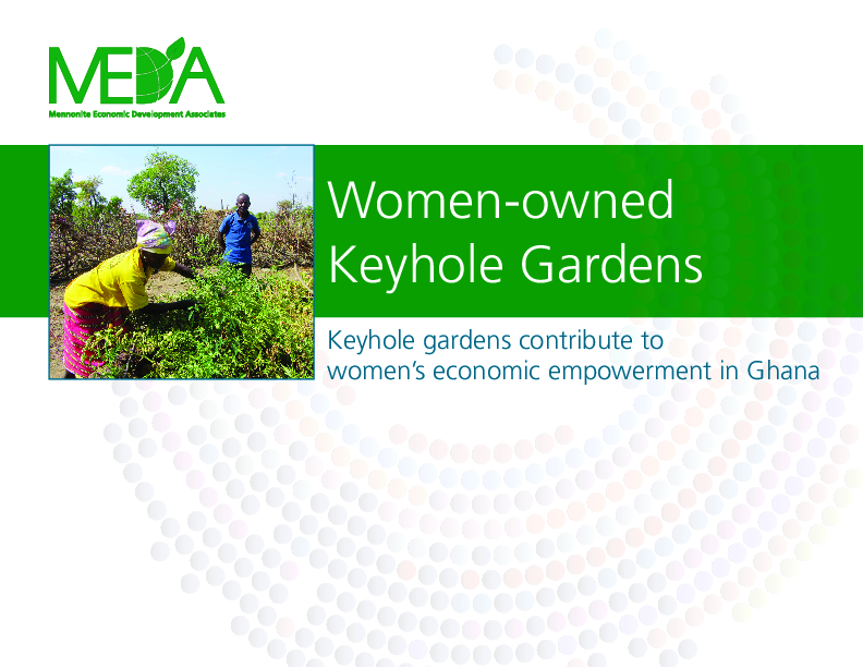 Women-Owned Keyhole Gardens: An Opportunity to Strengthen Household Food Security in Ghana